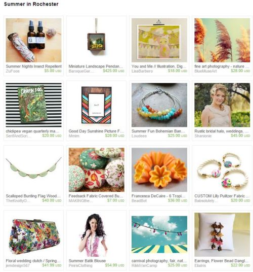 summer in rochester treasury