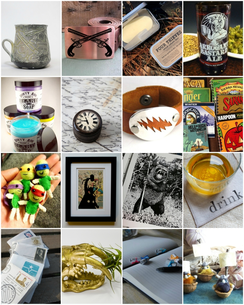 manly stuff collage