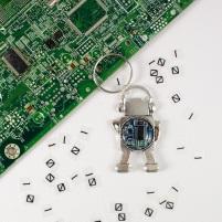 robot keychainMF
